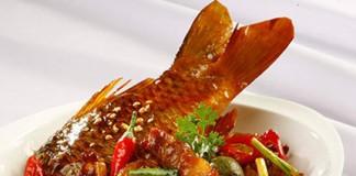 món ăn từ cá chép vàng