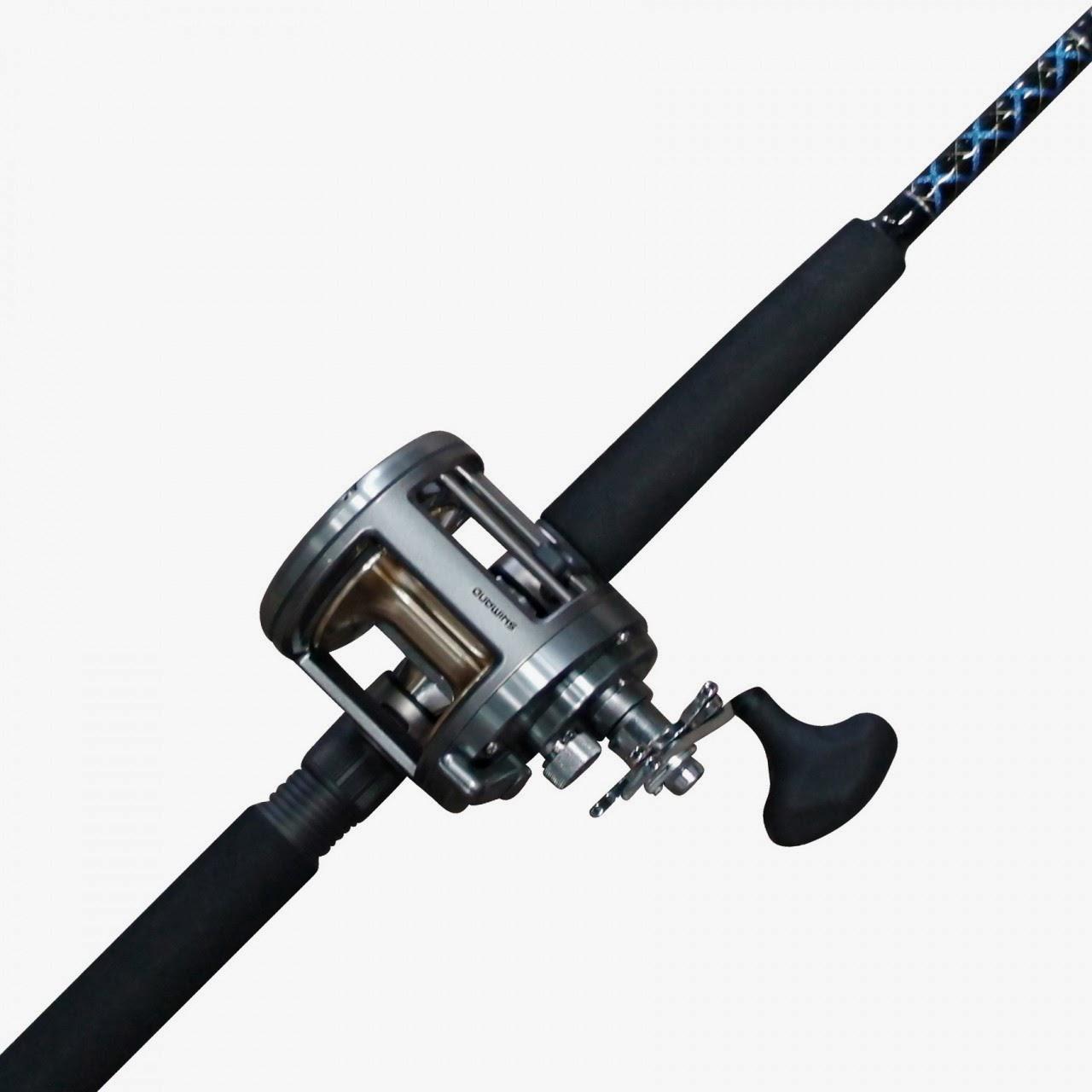 Shimano-Tekota-700-with-Ugly-Stick-6-Foot-Fishing-Rod