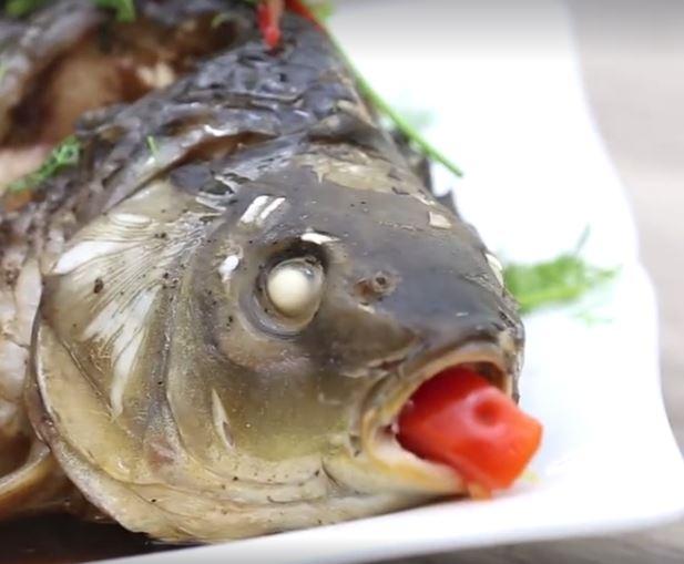 cá hấp xì dầu