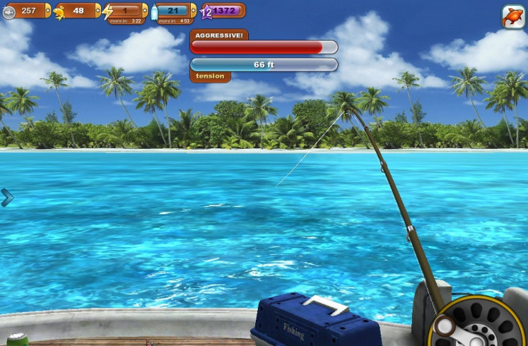 game câu cá mập biển