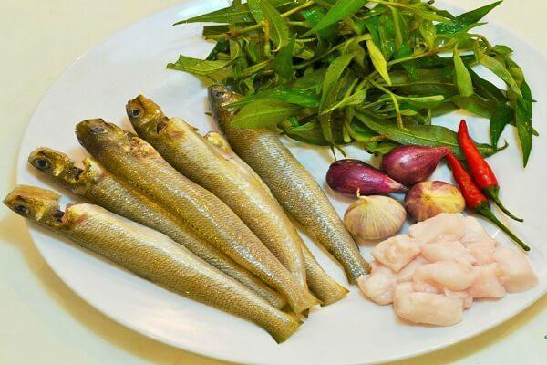 Một số nguyên liệu làm cá bống kho tộ ngon