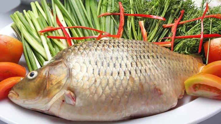 Nguyên liệu làm món cá chép hấp bia