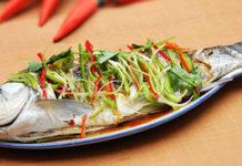 Cá trắm hấp bia ngon và các đồ ăn kèm