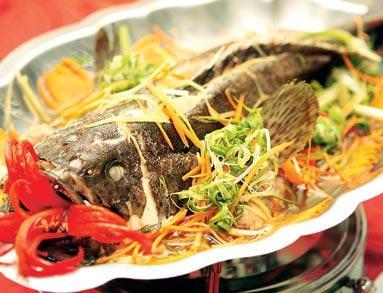 Món cá song hấp cùng xì dầu cực hấp dẫn