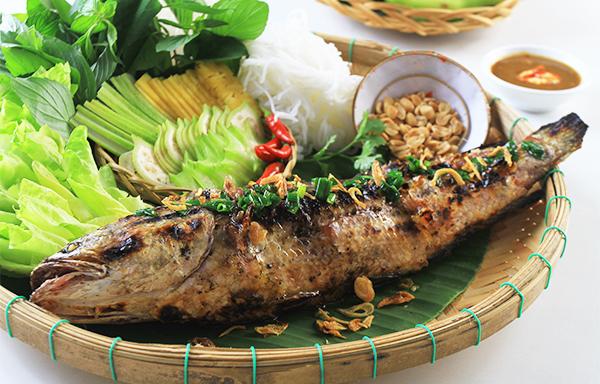 Kết quả hình ảnh cho cách làm món cá lóc nướng