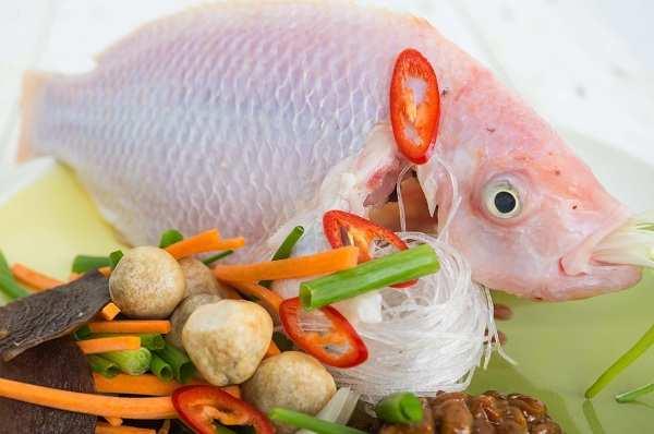 Hướng dẫn nấu lẩu cá diêu hồng thơm ngon nức mũi