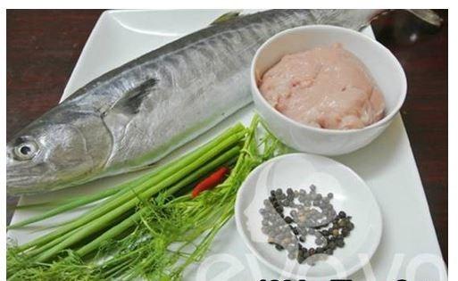 Nguyên liệu làm chả cá thu ngon