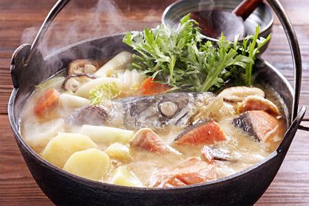Cách nấu lẩu cá hồi tại nhà
